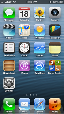 The current major version of iOS