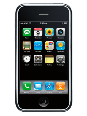 The first version of iOS (nee iPhone OS).
